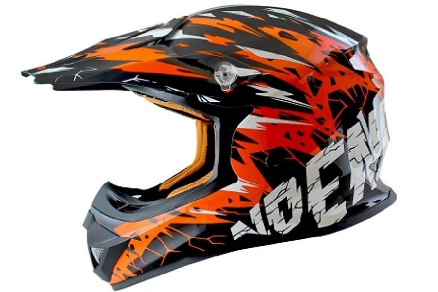 Thor S9 Sector Shear Helmet XL Black//Charcoal 0110-5596